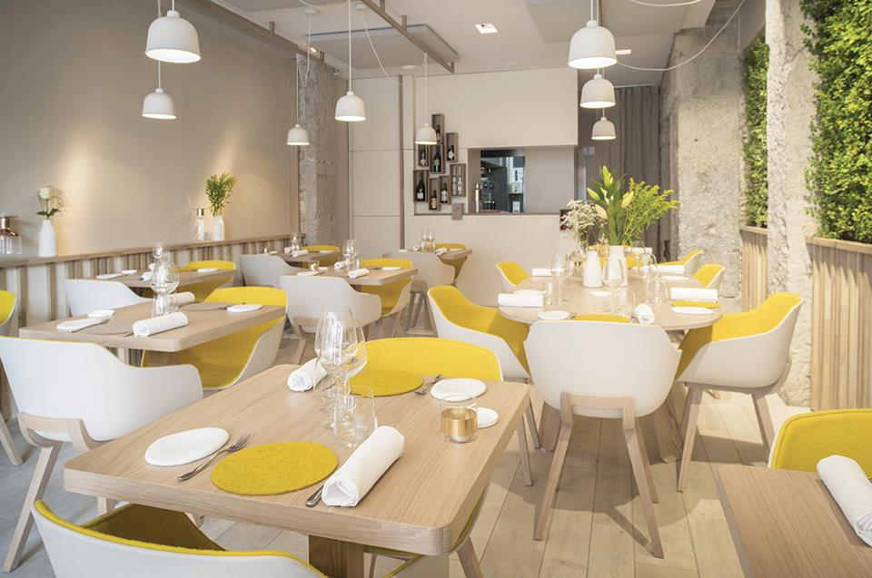 restaurant prairial - lyon shop design
